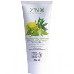 Shampooing fortifiant Quinquina Sauge Citron 200 ml C'Bio, shampoing bio, bio sante senior