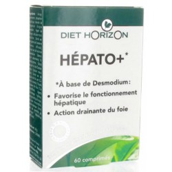 Hépato + 60 comprimés Diet Horizon foie et vésicule bio santé senior