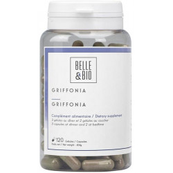 Griffonia simplicifolia naturel 120 gélules Belle et bio bio santé sénior