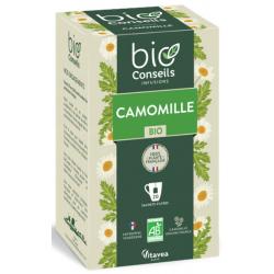 Shampoing douche sans parfum à l'extrait de Camomille 1L cosmo naturel bio sante senior