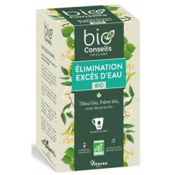 infusion Excès d'eau Elimination bio 20 sachets 26g bio conseils bio sante senior