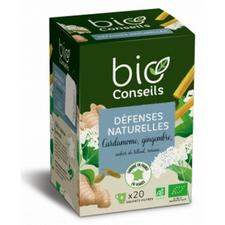 Infusion Détente bio libère votre stress 20 sachets 22g herboristerie bio sante senior
