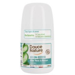 Déodorant à bille peaux sensibles 50ml Douce Nature - déodorant bio bio sante senior