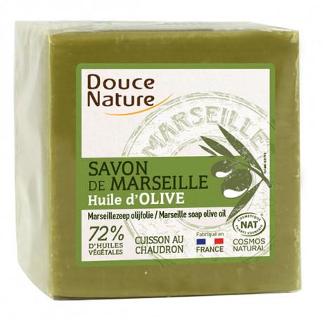 Savon de Marseille Vert 300 gr Douce Nature bio sante senior