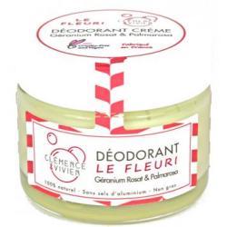 Baume déodorant Le Fleuri 50gr Clemence et Vivien bio sante senior