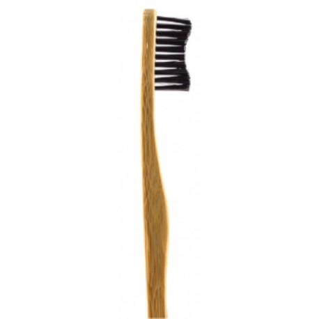 Brosse à dents adultes noire 160g Humble Brush - accessoire d'hygiène bucco-dentaire bio sante senior