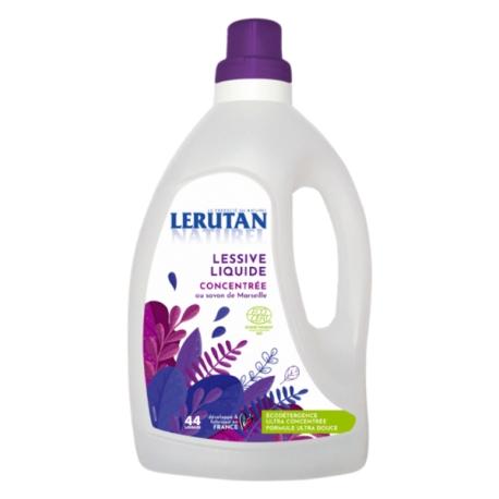 Lessive liquide concentrée Savon de Marseille Orange Lavande 1,5L Lerutan - lessive écologique