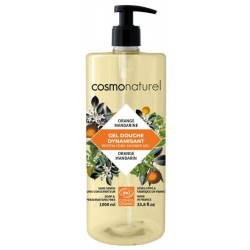 Bain douche Fruité Mandarine Orange 1 Litre Cosmo Naturel