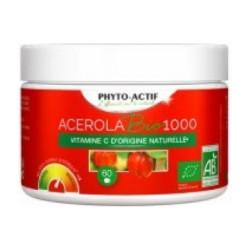 Acérola Bio 1000 FAMILIAL AB 60 comprimés - Phyto-actif bio sante senior
