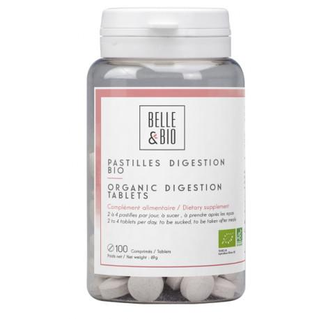 Pastilles Digestion aux Huiles essentielles - 100 unités Belle et Bio bio sante senior