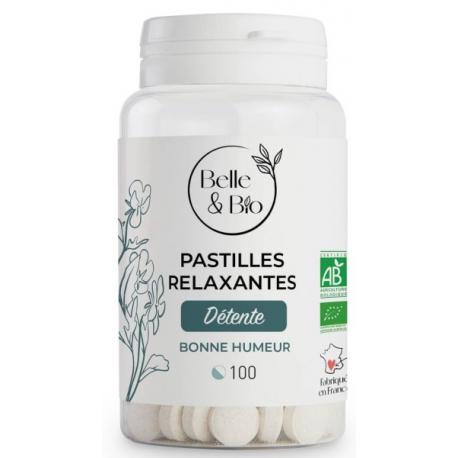 Belle et Bio 100 Pastilles Relaxantes aux Huiles essentielles - bio santé senior
