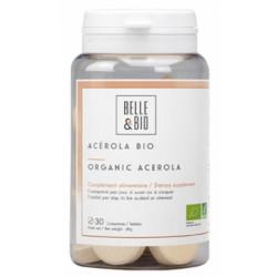 Acérola Bio 30 comprimés Belle et Bio - complément alimentaire bio santé senior