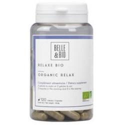 Complexe Relaxe bio 120 gélules Belle et Bio complément alimentaire bio sante senior