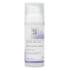 Crème anti âge caresse de rose et d'argan 50 ml Belle et Bio cosmétique bio