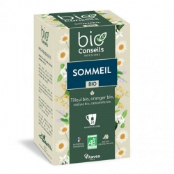 Infusion Sommeil Bio 20 sachets 32g - Bio Conseils bio sante senior