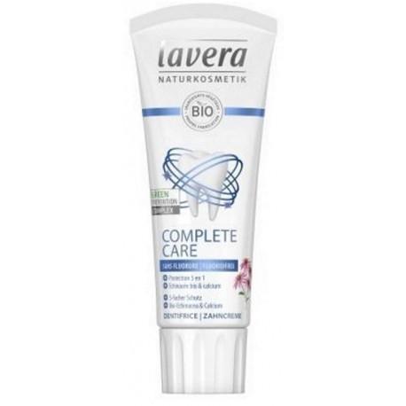 Dentifrice Complete Care échinacée Calcium sans fluor 75ml Lavera classic - sans fluorure bio sante senior