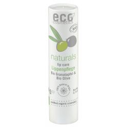 Baume à lèvres Grenade et Huile d'Olive 4 gr Eco Cosmetics réparateur et protecteur bio sante senior