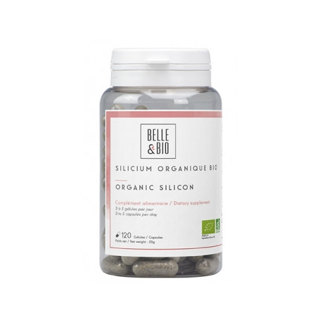 Silicium organique 120 gélules 55g