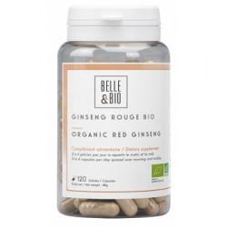 Ginseng rouge bio 120 gélules 78g