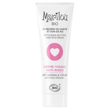 Crème anti-rides 30ml Marilou Bio - cosmétique bio bio sante senior
