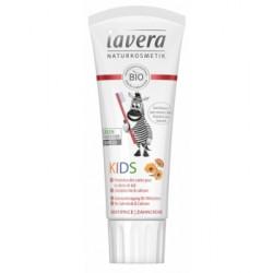 Dentifrice enfant au calendula bio et au calcium 75ml Lavera
