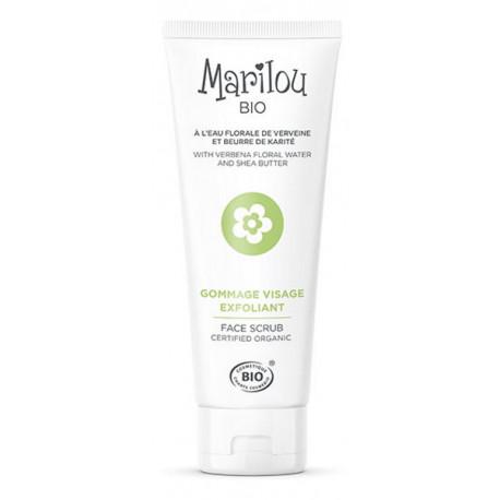 Gommage visage 75ml Marilou Bio - soin cosmétique visage Bio santé sénior
