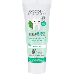 Dentifrice fresh Kids Menthe douce 50 ml Logodent Logona