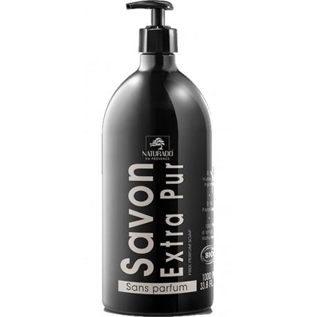 Savon liquide neutre et extra pur 1 litre Naturado peaux sensibles bio santé sénior