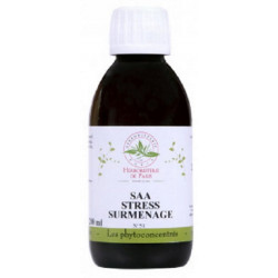 SAA Stress Surmenage PC Phytoconcentré No 51 200 ml Herboristerie de Paris bio sante senior