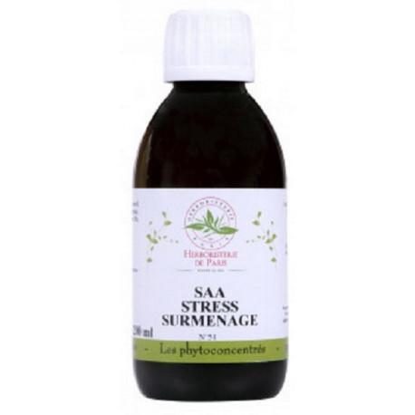 SAA Stress Surmenage PC Phytoconcentré No 51 200 ml Herboristerie de Paris bio sante senior