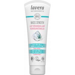 Lait nettoyant Basis Sensitiv 125 ml Lavera