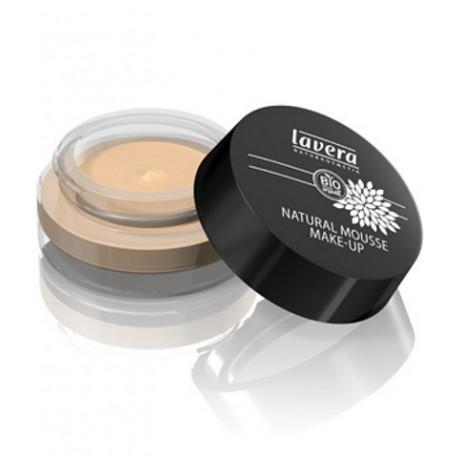 Mousse de teint naturel Ivoire 01 15 gr Lavera maquillage bio Bio santé sénior