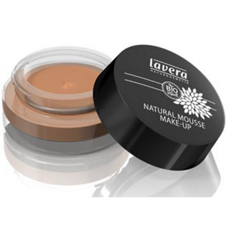 Mousse de teint naturel Amande 05 15 gr Lavera maquillage minéral Bio sante senior
