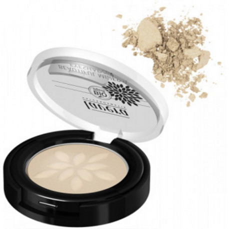 Fard à paupières minéral compacté Gloire d'or 01 2gr Lavera maquillage bio sante senior