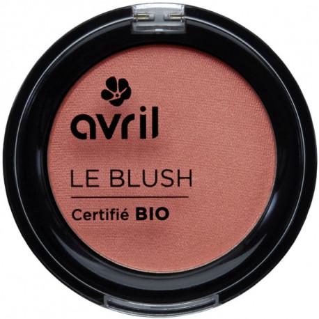 Blush Rose Nacré 2.5 gr Avril Beauté maquillage minéral Bio santé sénior