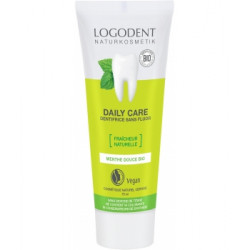 Dentifrice à la menthe bio Daily Care 75ml Logona