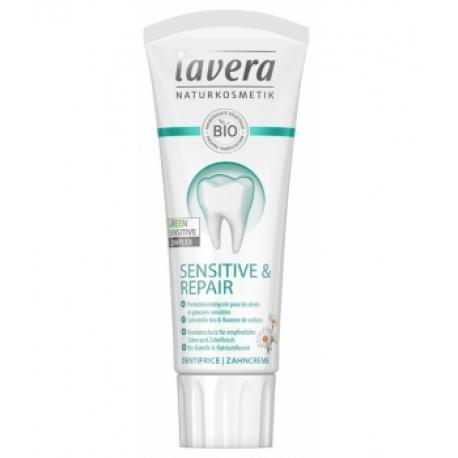 Dentifrice Dents et gencives sensibles Sensitive et Repair 75ml Lavera