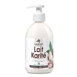 Lait corporel Karité peau sèche 500 ml Naturado lait corps bio sante senior