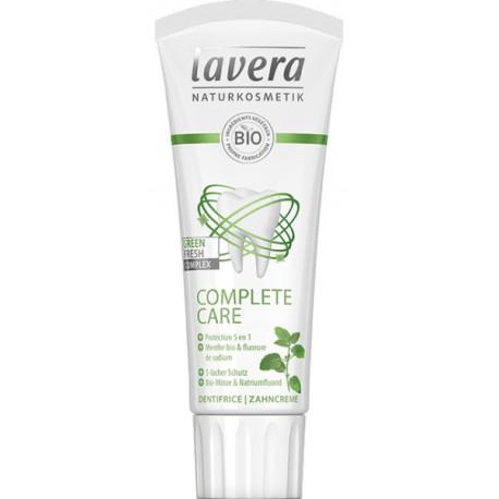 Dentifrice Menthe complete care au fluor 75ml Lavera bio sante senior
