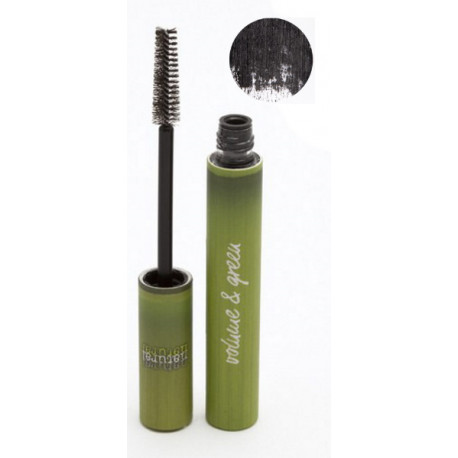 Mascara naturel Volume 01 noir 6 ml Boho green maquillage minéral Bio sante senior