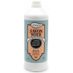 Savon Noir liquide ménager Multi Usages 1L Alepia huile d'olive savon Bio sante senior
