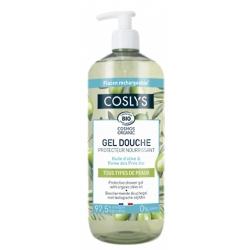 Gel douche protecteur et nourrissant à l'huile d'olive bio 1 L Coslys