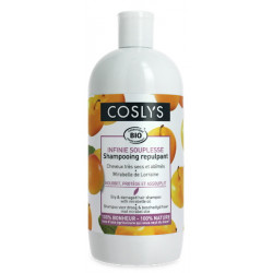 Shampooing Infinie souplesse cheveux secs Mirabelle 500 ml Coslys cheveux ternes Bio sante senior