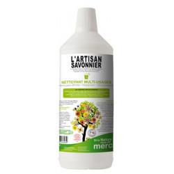 Nettoyant multi usages 1L L Artisan Savonnier multi surfaces Bio sante senior