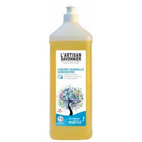 Liquide Vaisselle Concentré au Calendula 500 ml L'Artisan Savonnier ecocert Bio sante senior