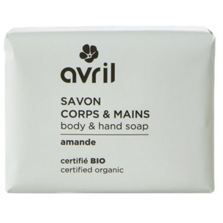 Savon de Provence Corps et Mains Amande 100 gr Avril beauté coco argan Bio sante senior