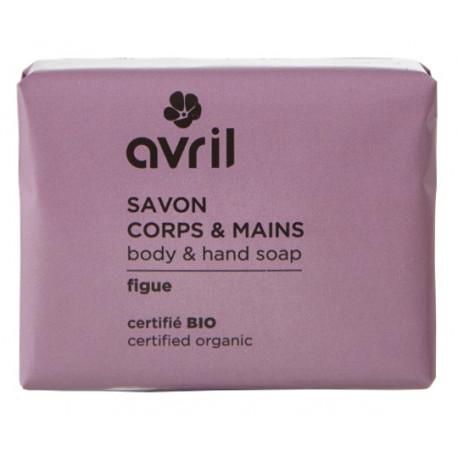 Savon de Provence Corps et Mains Figue 100 gr Avril beauté savon traitant argan coco Bio sante senior