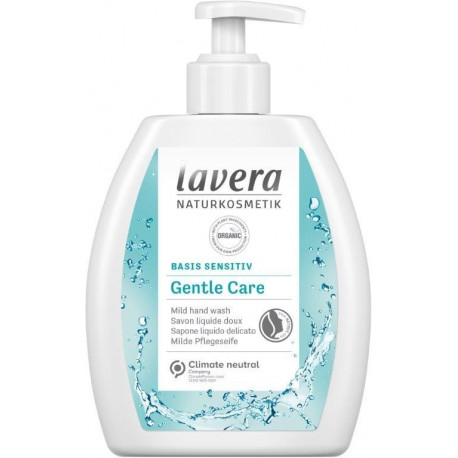 Savon liquide Basis Sensitiv 250ml Lavera