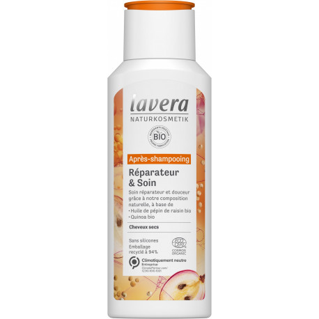 Après Shampoing Réparateur et Soin 200ml - Lavera soin capillaire bio Bio sante senior