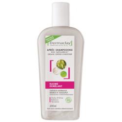 Baume démêlant Après shampooing 250 ml Dermaclay capilargil Bio sante senior